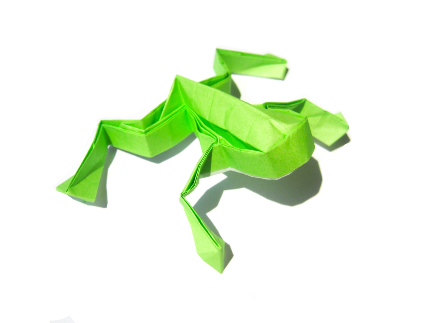 origami frog � graceincrease custom origami art