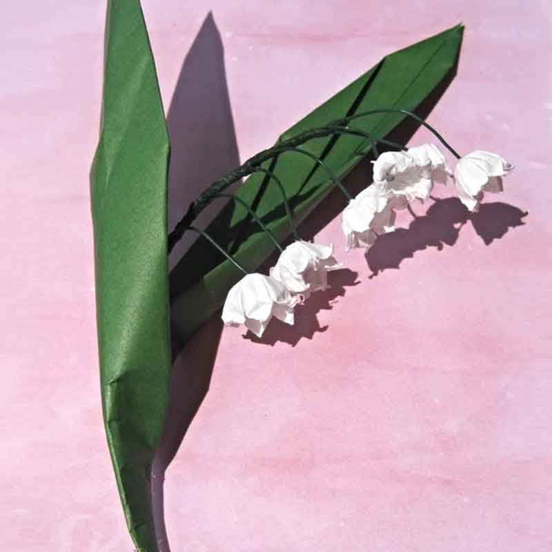 Origami Lily Of The Valley Graceincrease Custom Art