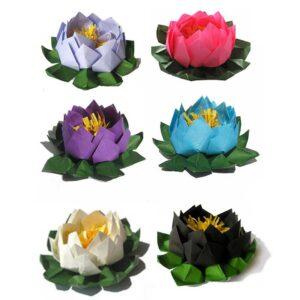 Pink Origami Lotus