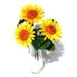 origami sunflower bouquet