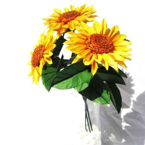 Origami Sunflower Bouquet