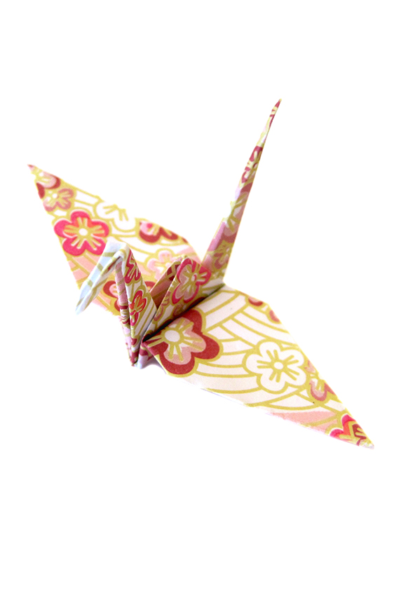 Origami cranes japanese blossoms pattern sakura flower print origami cranes japanese blossoms pattern sakura flower print mightylinksfo