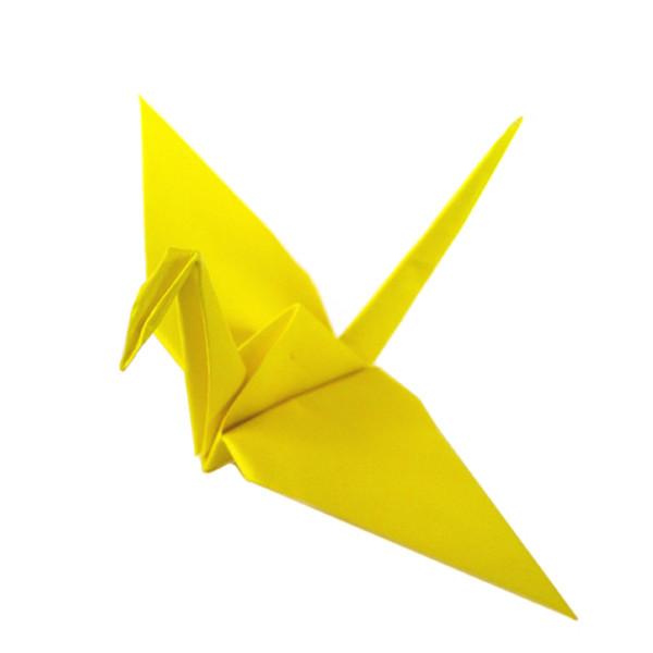 Folding Origami Crane