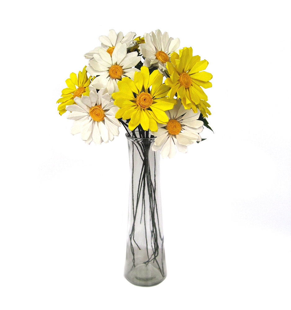 origami daisy dozen bouquet